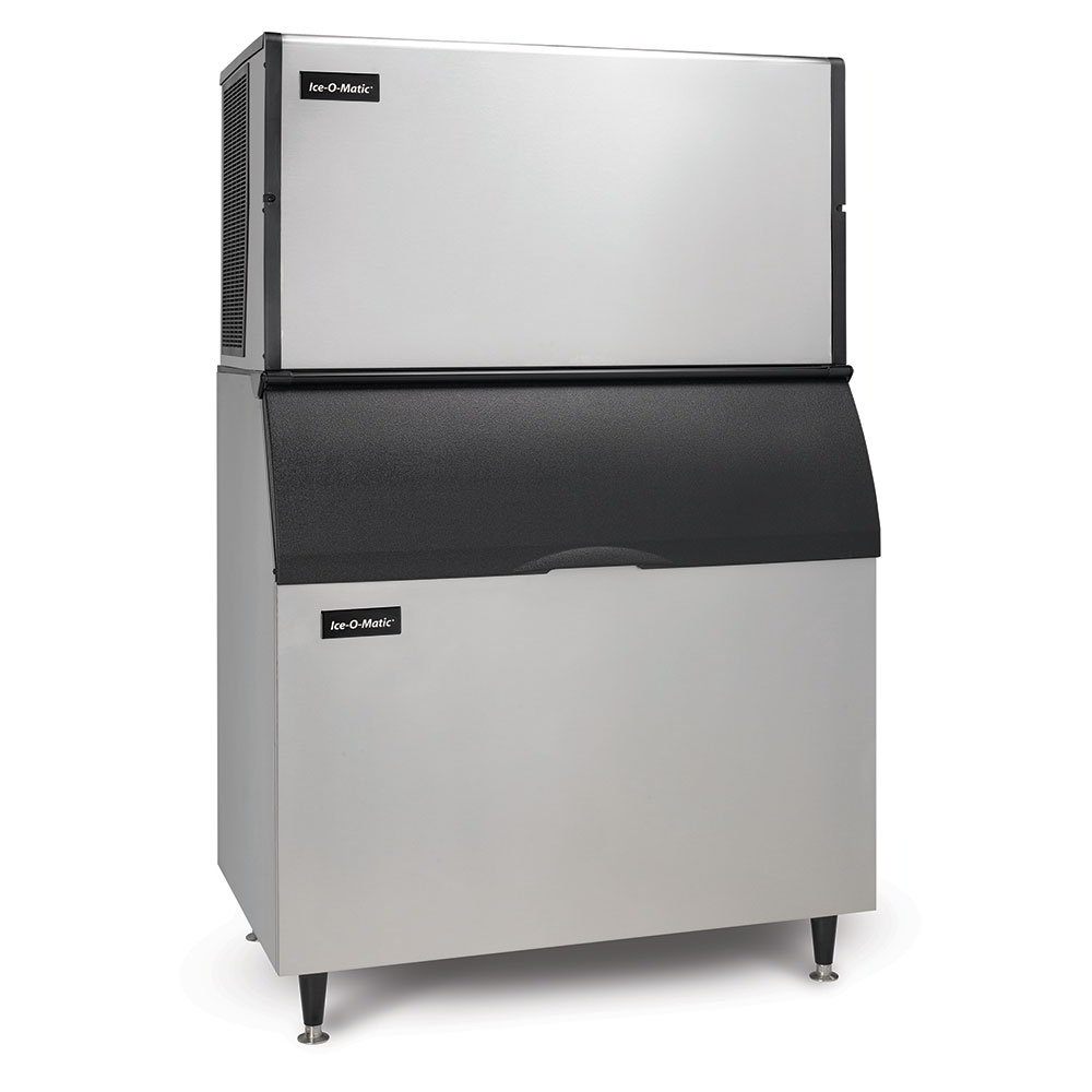 Ice-O-Matic ICE1406HAB100PS High Volume Cube Ice Maker w/ 854-lb Bin - Air Cooled, 208v/1ph