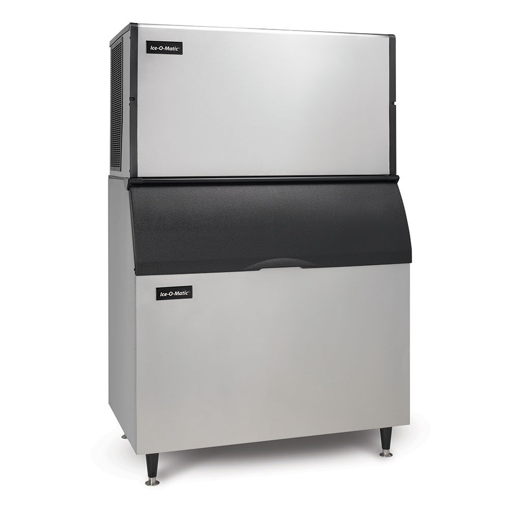Ice-O-Matic ICE1806HWB100PS Ice Maker w/854-lb Bin, Half Cube, 1832-lb/24-Hr, Water Cooled