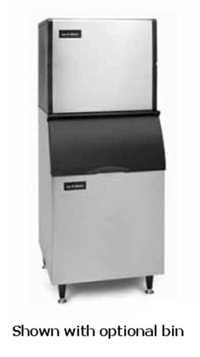 Ice-O-Matic ICE0806HR Half Cube Ice Maker - 913-lb/24-hr, Remote-Cool 208-230v