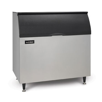 Ice-O-Matic B100PS Ice Bin for Top Mount Ice Maker - 854-lb Capacity, Stainless