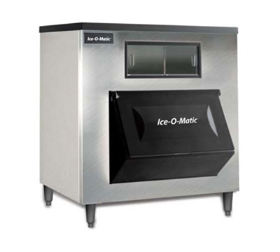 Ice-O-Matic B120SS Ice Bin for Top Mount Ice Maker - 1142-lb Capacity, Stainless