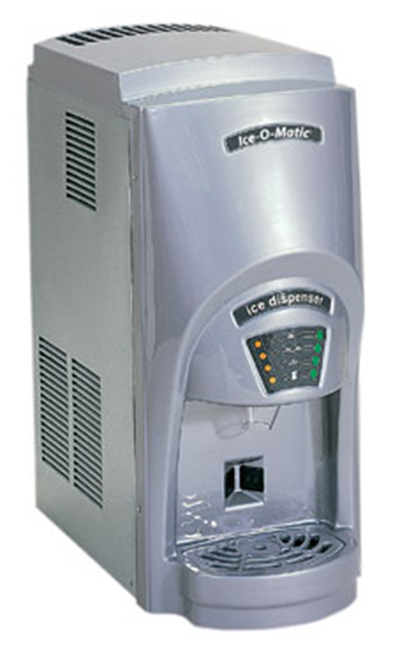 Ice-O-Matic GEMD270A Nugget Ice Maker Water Dispenser - 273-lb/24-hr, 12-lb Capacity, Air-Cool 115v