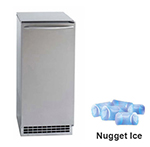 Ice-O-Matic GEMU090 85-lb Nugget Undercounter Ice Maker - Pump Drain, 115v