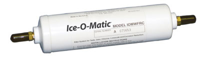 "Ice-O-Matic IFI8C In-Line Water Filter Cartridge - 3/8"" Compression"