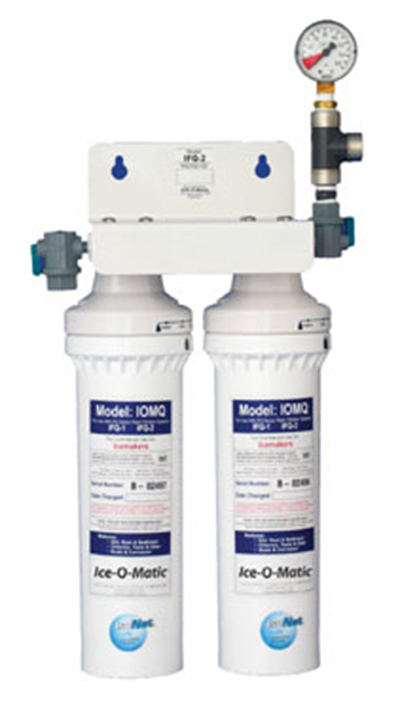 Ice-O-Matic IFQ2 Water Filter Manifold - 2400-lb/24-hr Ice Makers