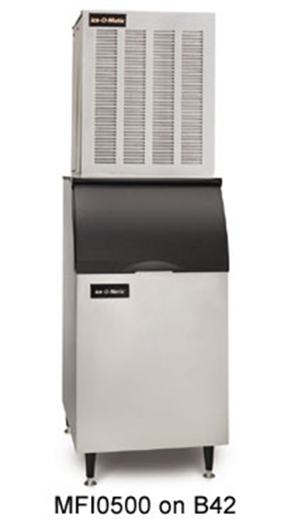 Ice-O-Matic MFI0500A Flake Ice Maker - 540-lb/24-hr, Air-Cool 115v
