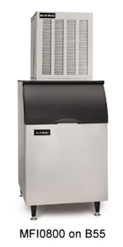 Ice-O-Matic MFI0800A Flake Ice Maker - 900-lb/24-hr, Air-Cool 115v