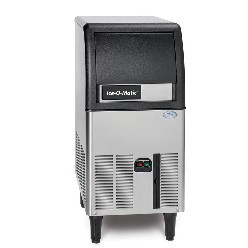 Ice-O-Matic ICEU070A Gourmet Undercounter Cube Ice Maker - 84-lb/24-hr, 27-lb Bin, Air-Cool 115v