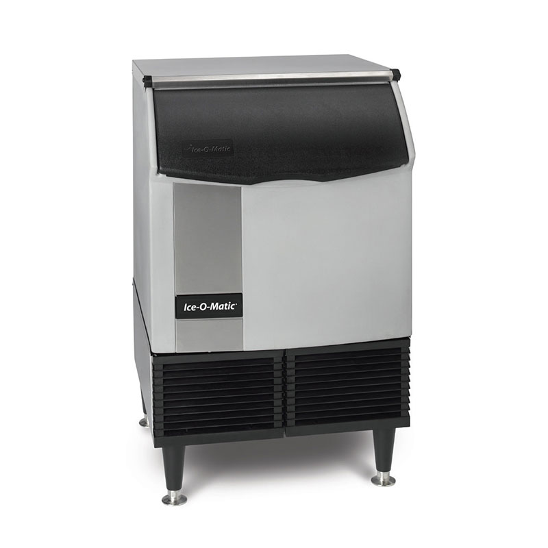 Ice-O-Matic ICEU150HA Half Cube Undercounter Ice Maker - 185-lb/24-hr, 73-lb Bin, Air-Cool 115v