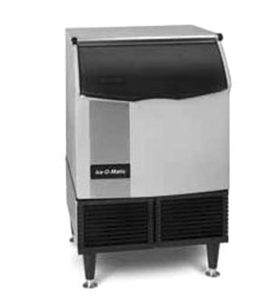 Ice-O-Matic ICEU225HA Ice Maker w/ 74-lb Bin Half Cube 211-lb/24-Hr Air Cool Export Restaurant Supply