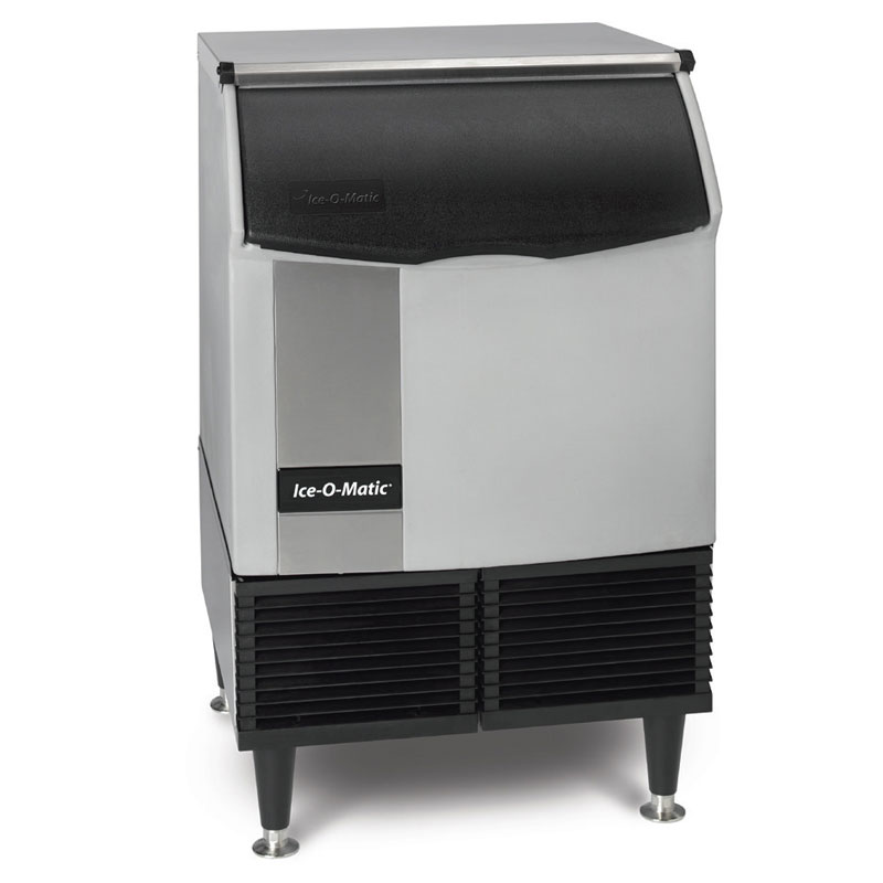 Ice-O-Matic ICEU220HA Half Cube Undercounter Ice Maker - 238-lb/24-hr, 74-lb Bin, Air-Cool 115v