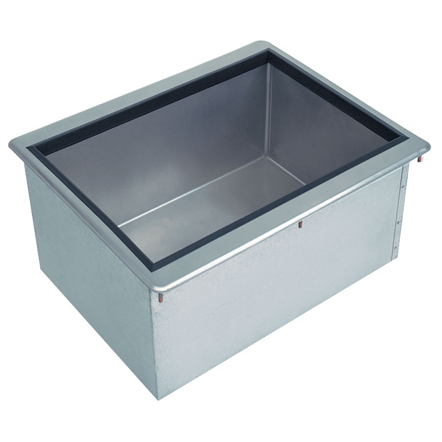 Supreme Metal D-12-IBL Drop-In Ice Bin, 18 in x 12 in x 11 in