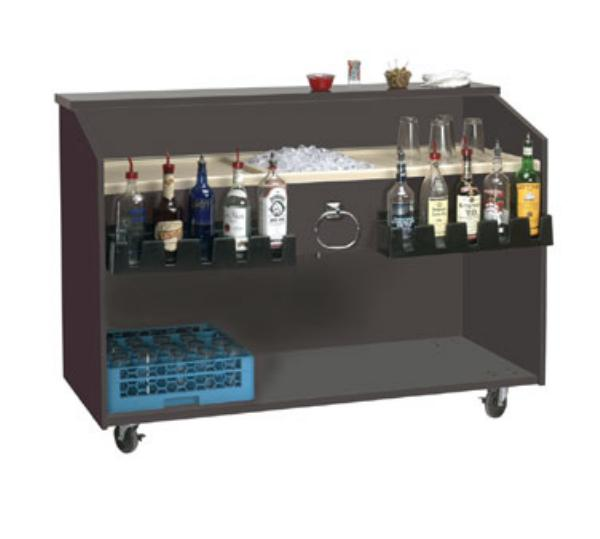 Supreme Metal M-B Marquis Series Portable Bar, 60 in L