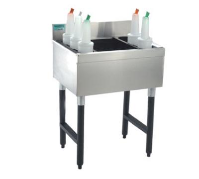 Supreme Metal SLJ-15 Slimline Cocktail Unit, 15 in W x 18 in D Overall, 8 in D Bin