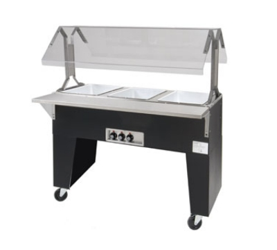 Supreme Metal B4-120-B Portable Hot Food Bu