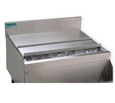 Supreme Metal SSC23 Sliding Ice Bin Cover For 24-in Bin, Stainless Steel