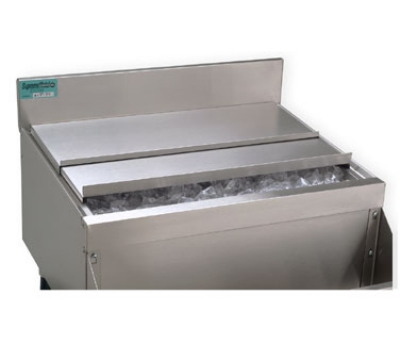 Supreme Metal SSC35 36-in Ice Bin Sliding Cover, Stainless Steel