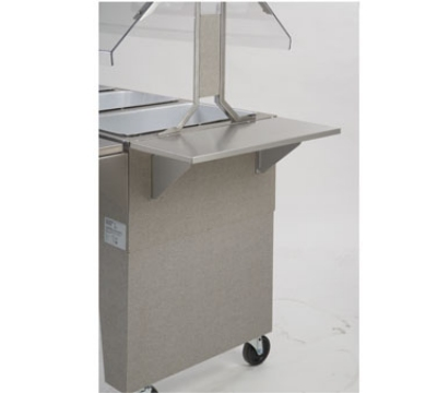 Supreme Metal BES-2 End Shelf, Stainless