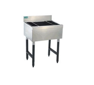 Supreme Metal CRI-12-24 24-in Challenger Cocktail Unit w/ 12-in Chest, 77-lb Ice