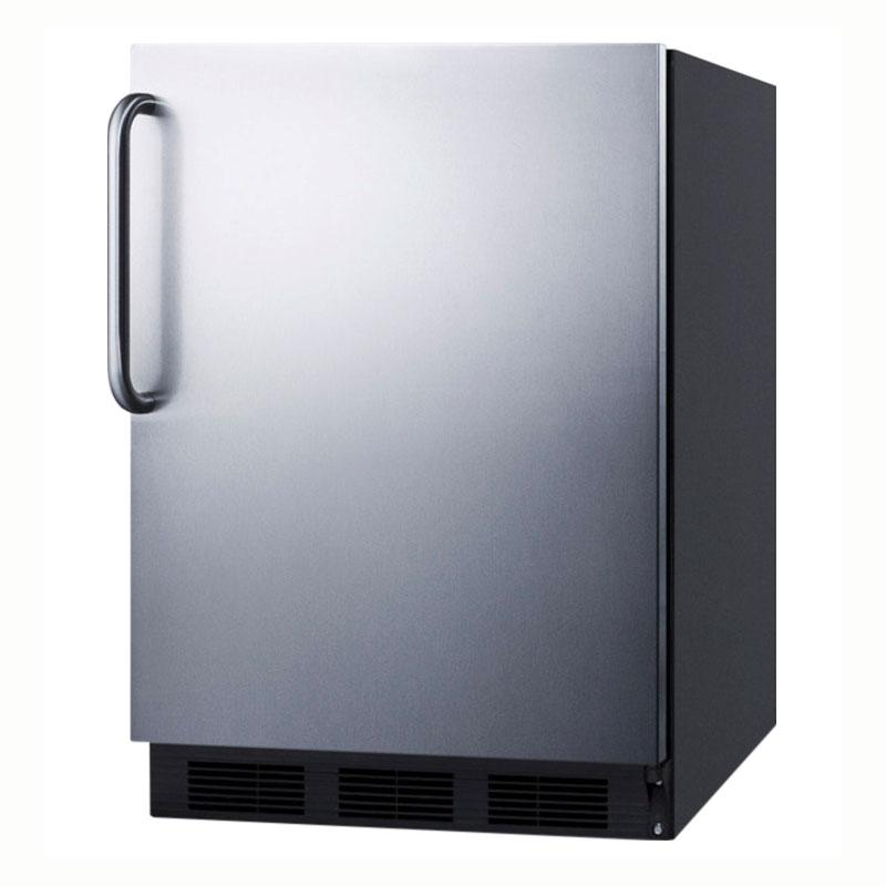 Summit Refrigeration ALB753BSSTB 5.5-cu ft Undercounter Refrigerator w/ (1) Section & (1) Door, 115v