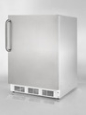 Summit Refrigeration BI540CSS Undercounter Refrigerator Freezer w/ 1-Section & Cycle Defrost, Stainless, 5.3-cu ft