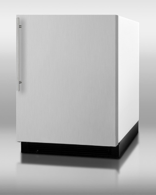Summit BI605SSVH Undercounter Refrigerator w/ Freezer 6.1-cu ft Restaurant Supply
