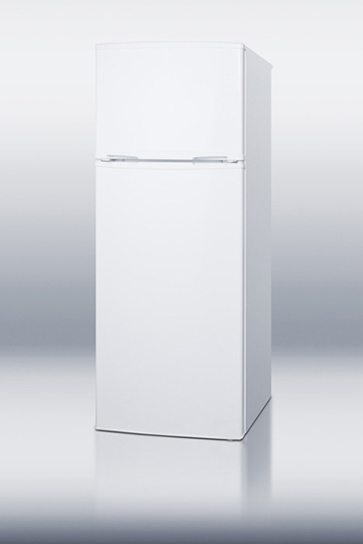 "Summit Refrigeration CP96 21.5"" Refrigerator/Freezer - Manual Defrost Freezer, 7.5 cu ft, White"