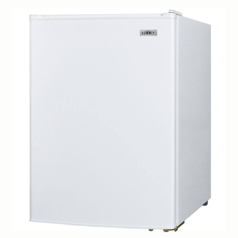 Summit Refrigeration CT70 Compact Refrigerator Freezer w/ Manual Defrost & Wire Shelves, White, 6.0-cu ft