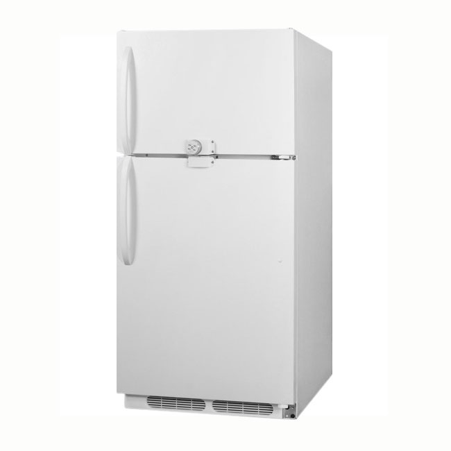 "Summit Refrigeration CTR15LLF2 28"" Refrigerator/Freezer - Frost Free, 15 cu ft, White"