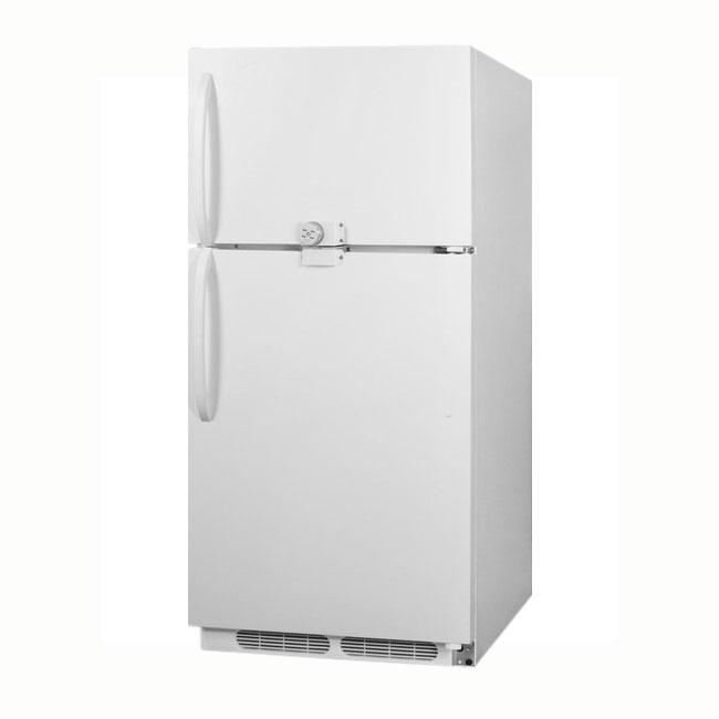 "Summit Refrigeration CTR21LLF2 30"" Refrigerator/Freezer - Frost Free, 20.9 cu ft, White"