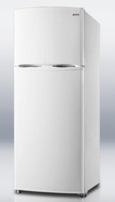"Summit Refrigeration FF1062W 24"" Frost Free Freezer - Reversible Doors, White, 9.41-cu ft"