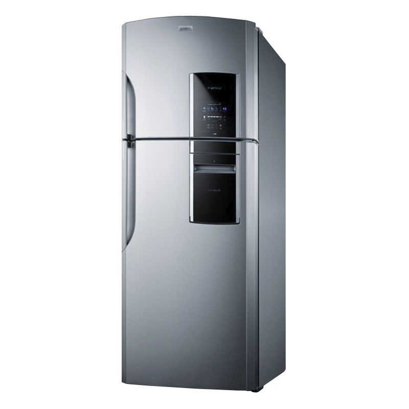 "Summit Refrigeration FF1935PL 29.25"" Refrigerator/Freezer - Frost Free, 18 cu ft, Platinum"