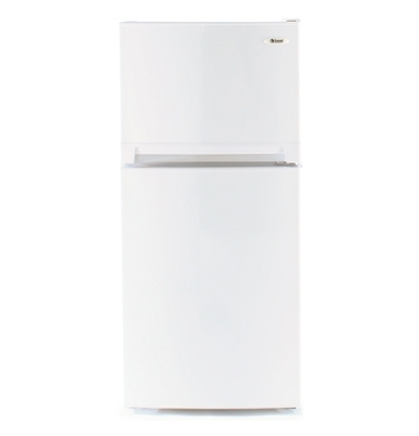Summit Refrigeration FF874 Frost Free Refrigerator Freezer w/ 2-Doors & Adjustable Shelves, White, 8.1-cu ft