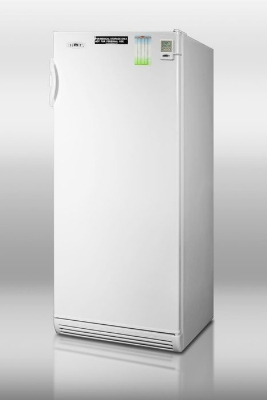 Summit Refrigeration FFAR10FC7MED 24-in Medical Refrigerator w/ Auto Defrost, Lock & Fan Forced Cooling, White, 10.1-cu ft