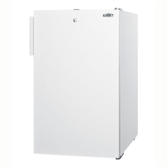 Summit Refrigeration FS407L Medical Freezer w/ Manual Defrost & Lock, 3.0-cu ft, White