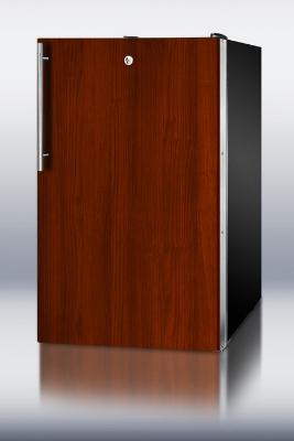 Summit Refrigeration FS408BLBIIFADA 20-in Undercounter Freezer w/ Lock & Integrated Door Frame, 2.8-cu ft, ADA