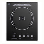 Summit Refrigeration SINC1110 Built In Induction Cooktop w/ 1-Zone, Beveled Edges & 10-Power Settings, Black