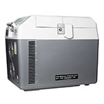 Summit Refrigeration SPRF26M Portable Compressor Refrigerator Freezer w/ Lock, AC Cord, Car Adapter & Travel Trolley
