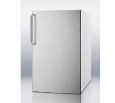 Summit Refrigeration CM4057SSTB 20-in Freestanding Refrigerator Freezer w/ Stainless D