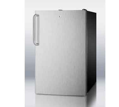 Summit Refrigeration CM421BL7SSTB 20-in Freestanding Refrigerator Free