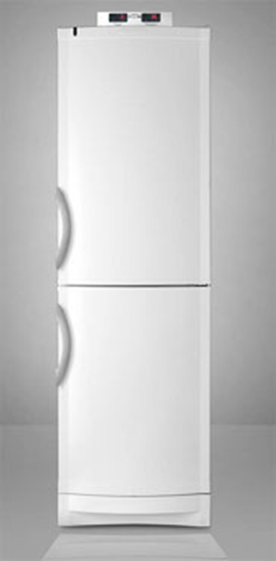 Summit Refrigeration CP171MED Refrigerator/Freezer - Frost Free Defrost, Individual Control, White