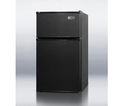 Summit Refrigeration CP35B Freestanding Upright Refrigerator w/ 1-Section & Dial Thermostat, Black, 2.9-cu ft