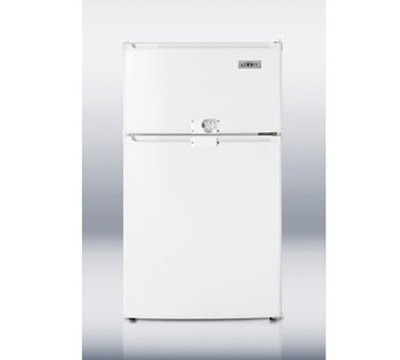 Summit Refrigeration CP35LLF2 20-in Freestanding Refrigerator Freezer w/ Combination Lock, 2.