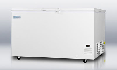 Summit Refrigeration EL51LT Laboratory Chest Freezer w/ 1-Section & Lock, 115v, White, 15.