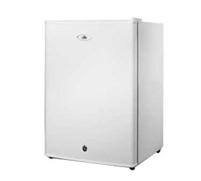 Summit Refrigeration FF28LWH Compact Refrigerator - Auto Defrost, Lock, Reversible Door, White, 2.5-cu ft