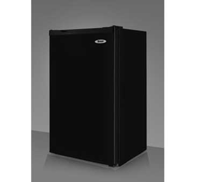Summit Refrigeration FF430BL Refrigerator Freezer Combo w/ Counter Height & Auto Defrost, 115v, Black, 3.9-cu ft