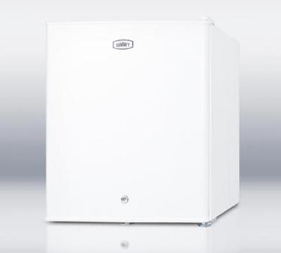 Summit Refrigeration FFAR22LW7 Compact Refrigerator w/ Auto Defrost & Removable Shelf, White, 115v, 1.6-cu ft