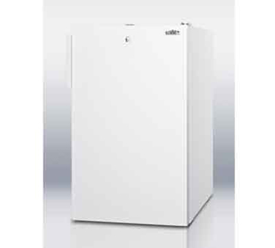 Summit Refrigeration FS407L7 20-in Freestanding Undercounter Freezer w/ Manual Defrost, 2.8-cu