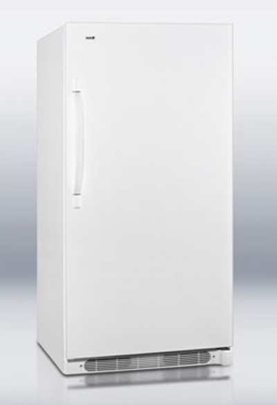 Summit Refrigeration R17FF Refrigerator w/ Right Hand Door Swing, 1-Section, 4 Shelves & 4-Lights, White, 16.5-cu ft