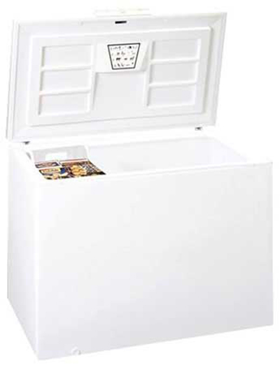 Summit Refrigeration SCFR150 Chest Refrigerator w/ Counter Balanced Hinges & Frost Free Defrost, White, 14.5-cu ft